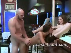Cash lures females to fuck pornstar dick that rams a slutty girl in her snatch
