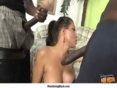Cougar Porn - Large ebony shaft Do Attractive mature White Vagina 32