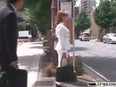 Sensual Asian Get Wild Sex In Public Places video-29