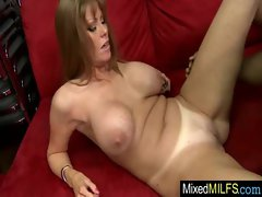 Black Shaft Grinding Raunchy Luscious Big titted Cougar video-15