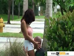 Spying And Banging Barely legal teen Randy Babe video-32