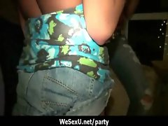 College gals getting a dirty party orgy 16