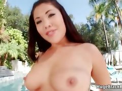 Lewd curvy young woman loves banging huge ebony part4
