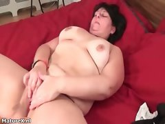 Top heavy plump dark haired female absolutely delights part2