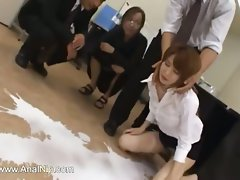 tokyo secretary from Tokyo with naughty ass milk