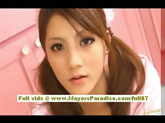 Rio Lewd Asian actress goes for a ride on a stiff pecker