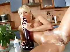 Solnce sexing a huge young lady in a kitchen