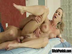 Masseur Seduce Sensual Bigtits Young woman To Bang Her Wild video-13