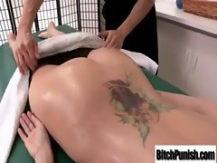 Masseur Seduce Alluring Bigtits Lady To Bang Her Wild video-19