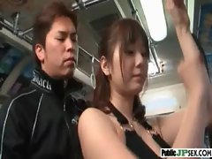 Luscious Sensual japanese Banged Horny In Public Place video-14