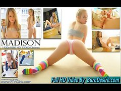 Madison Ftv Beautiful New Young lady 19 years old Natural Knockers And Bum