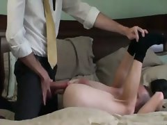 Sinful amateur elders blow their holy loads