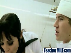 Sensual Big titted Teachers and Students Banging Horny clip-04