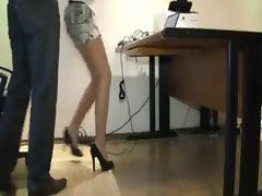 Sensual Secretary Abused by Her Boss -1