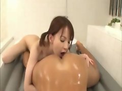 18yo asian lass strokes males body