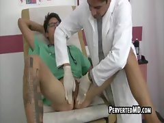 These two sexual doctors jerk eachother off