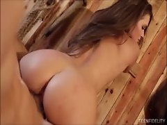 Country Naughty bum Rides Huge pecker The Best