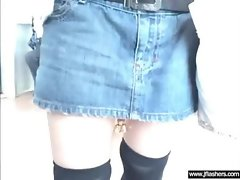 Screwing Wild Some Sensual Flasher Asian Slutty girl Lady clip-17