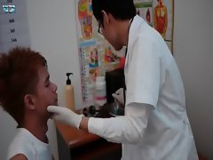 Doctor twink raunchy dirty ass checkup