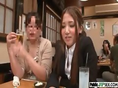 Whore Asian Get Screwed Wild In Public clip-19