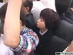 Bitch Asian Get Screwed Horny In Public clip-31