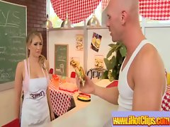 Big Melons Lass In Uniform Get Screwed Dirty Style clip-20