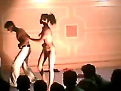 Sensual indian stage naked horny sex dance
