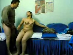Seductive indian Buxom Air Hostess enjoyed with her Partner