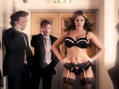 Kelly Brook Luscious Underwear Slow-Mo (HD)