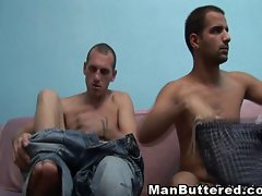 Gay Buttered Cumload