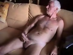 Filthy elder men cumshot