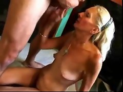 Filthy FUCK #27 (Blonde Granny banged nice on the Floor)