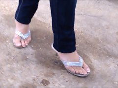 Asian feet candid Tribute