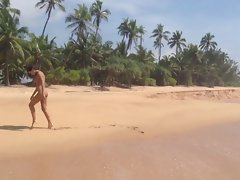 Ukrainian naked venus Innuska in Sri Lanka 2