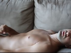 Masturbation High Quality Cumshot Hairless Belly