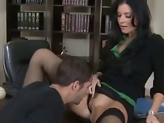 Teacher in Black Stockings