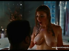 Jessica Pare naked - Attractive Tub Time Machine (2010)