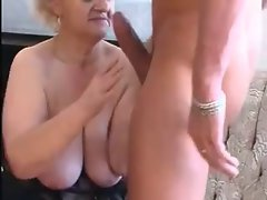 Granny Seduces 19yo Man