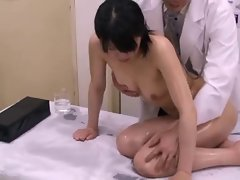Sensual japanese schoolgirl (18+) medical exam (2)