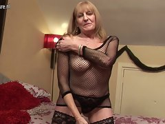 65YO English grandmother still obscene hussy
