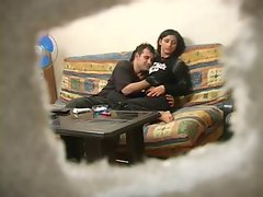 Turkish Raunchy teen with Rus Man
