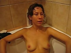 Polish dirty wife Joanna water orgasm