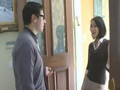 Filthy Aisan Luscious teen fuck her Teacher
