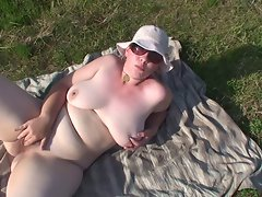 heavy hirsute exhibitionist bitch expose free outdoor
