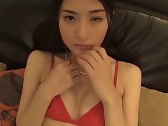 Cool Seductive japanese Female in Panties and Stockings (Softcore)