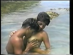 Brazilian Lovers By The Ocean