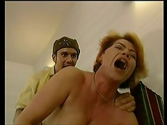 Loud Moaning German Attractive mature Banged