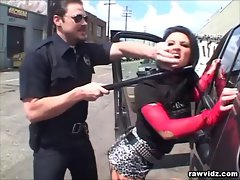 Katrina Kraven Caught By Raunchy Cop