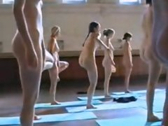 Naked YOGA Slutty chicks