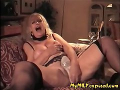 My Filthy bitch Exposed - experienced granny attractive wax hooters play
